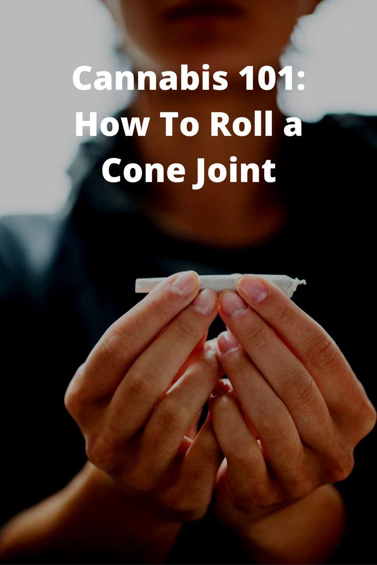 Cannabis 101: How To Roll a Cone Joint