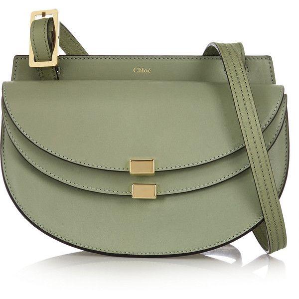 Chlo¨¦ Georgia mini leather shoulder bag (1,455 CAD) ? liked on ...