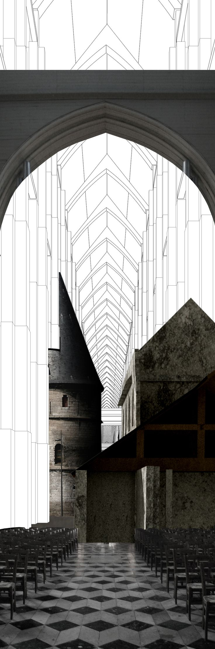 PERSP, DRAW, AA School of Architecture Projects Review 2011 - Diploma 3 - Charles Lai
