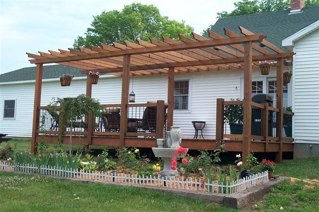 Mobile home front porch deck ideas pinterest - Mobile home deck designs ...