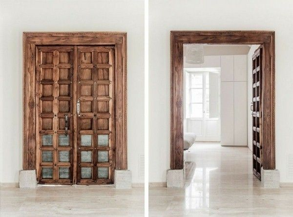 32 best portes images on Pinterest Bricolage, Facades and Front doors
