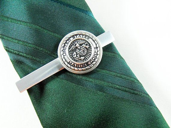 1042 best mens accessories images on pinterest united states marine corps silver framed tie clip tie by agothshop ccuart Image collections
