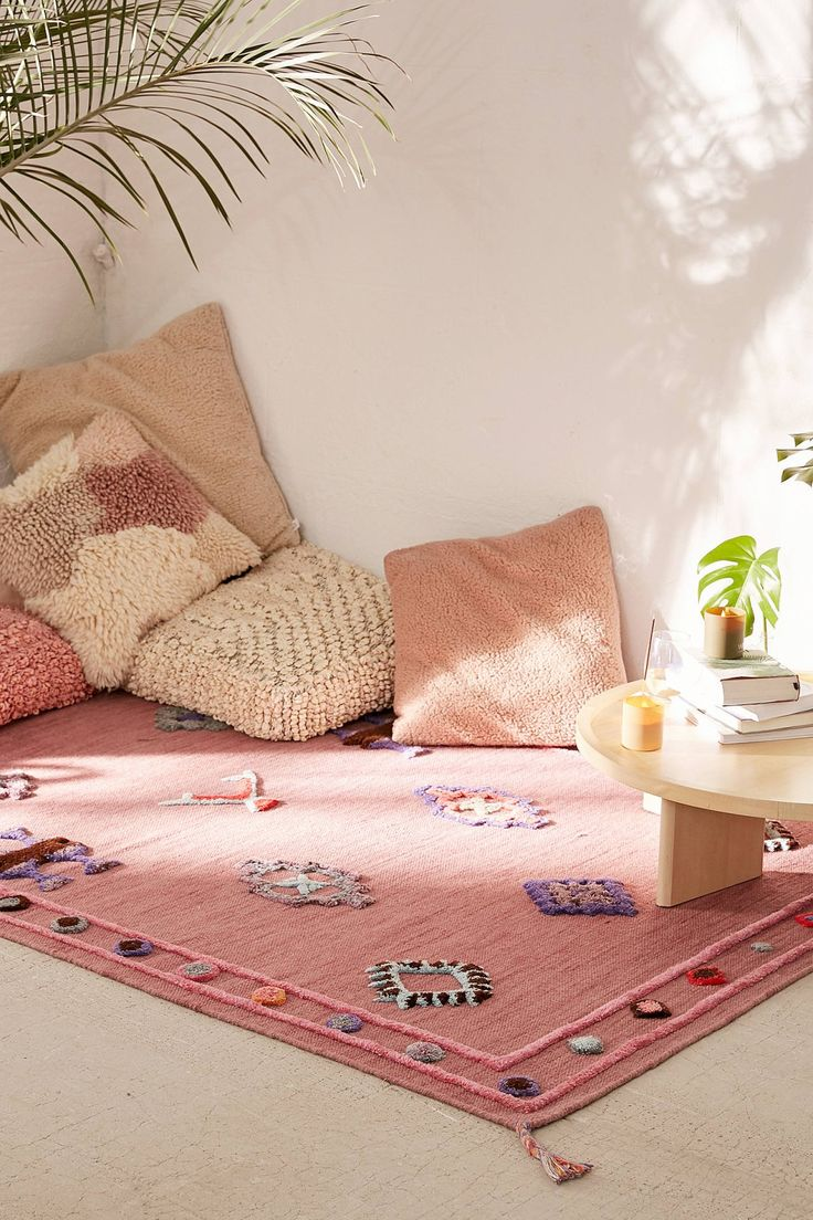Rosalita Tufted Rug | Urban Outfitters