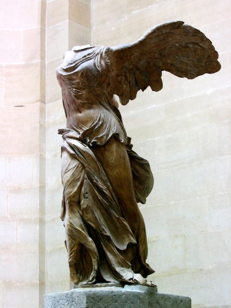 Victoire de Samothrace, Louvre, Paris