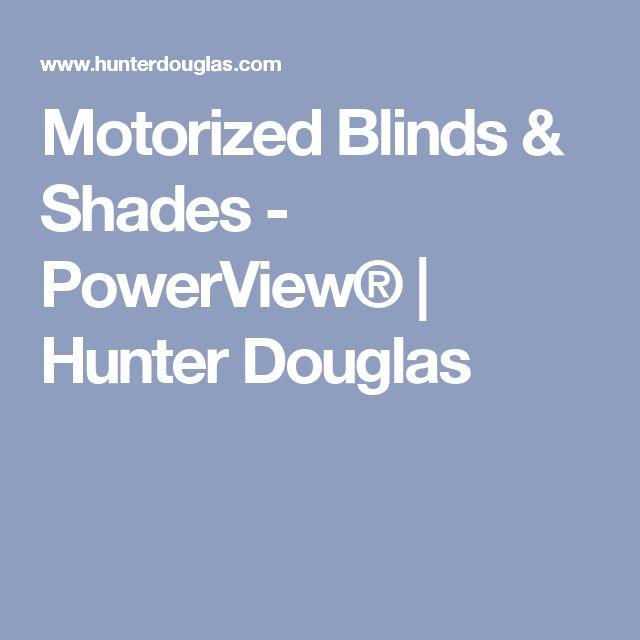 25 best ideas about hunter douglas blinds on pinterest for Hunter douglas motorized shades