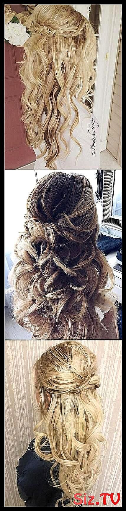Hairstyles Prom Straight Half Up 19 Ideas #Boho_Wedding_bridesmaids_half_up #Hairstyles #ideas #prom