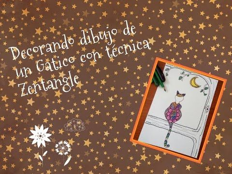 YouTube  Gatico en Zentangle ^^