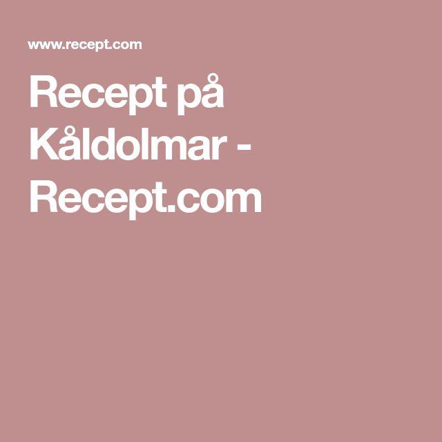 Recept på Kåldolmar - Recept.com