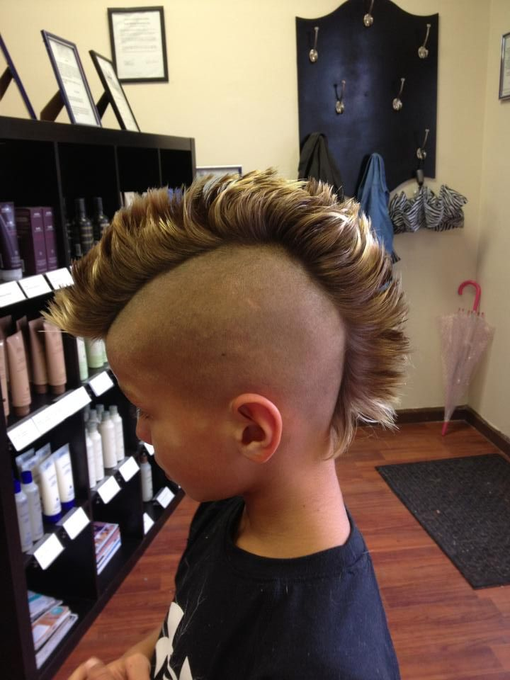 Mohawks and Other Specialty Kids Cuts by Hair Trendz Stylist Dawn.  Call for pricing. 201-288-9673