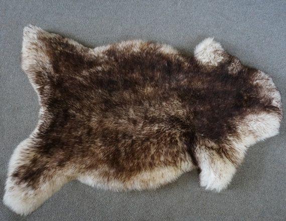 REGULAR SHEEPSKIN MOUFLON Throw Genuine by TrendingSlippers, $59.00