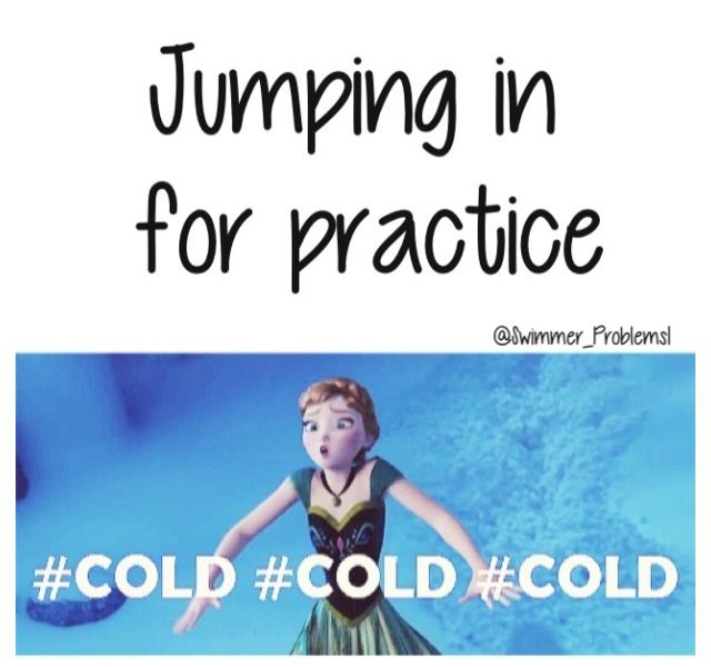 Frozen+swimming funny=hilarious