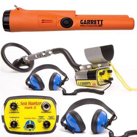 Garrett Sea Hunter Mark II Underwater Metal Detector with AT Pro-Pointer - Walmart.com