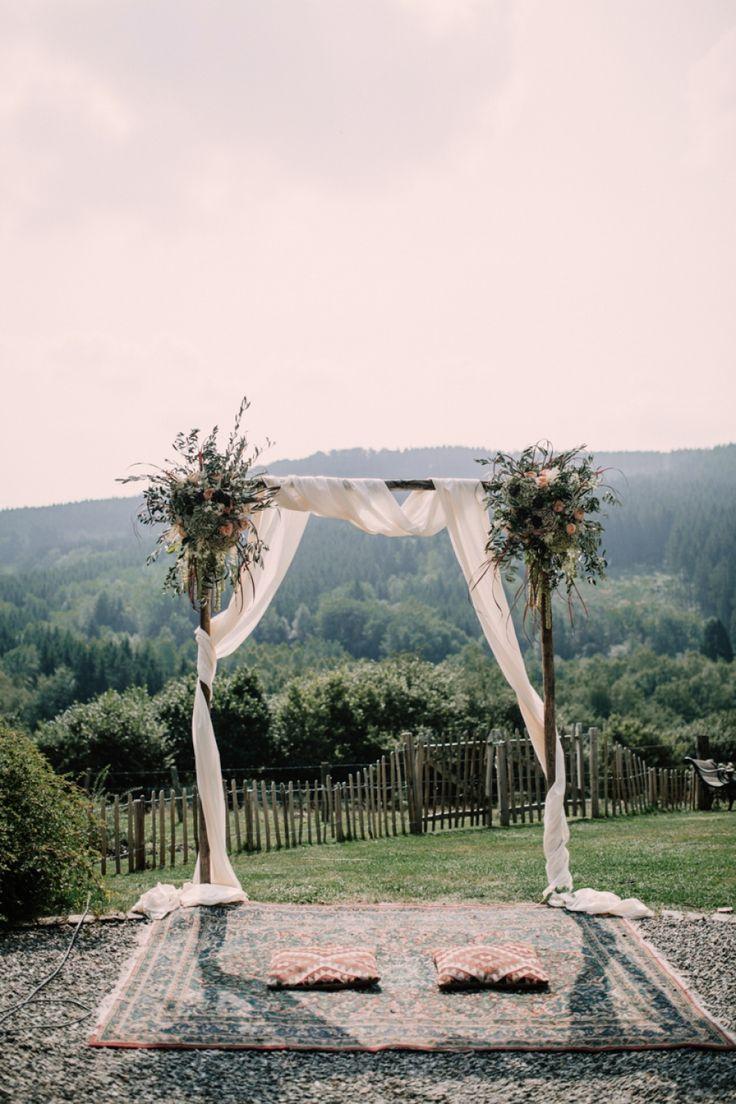 Bohemian Ceremony / Alice Mahran Photography