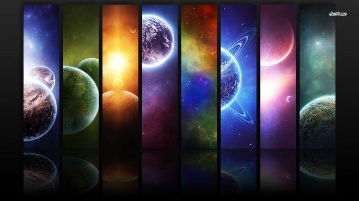 Solar System wallpaper - Digital Art wallpapers - #1170 Hình ảnh - k amp uuml che aus paletten