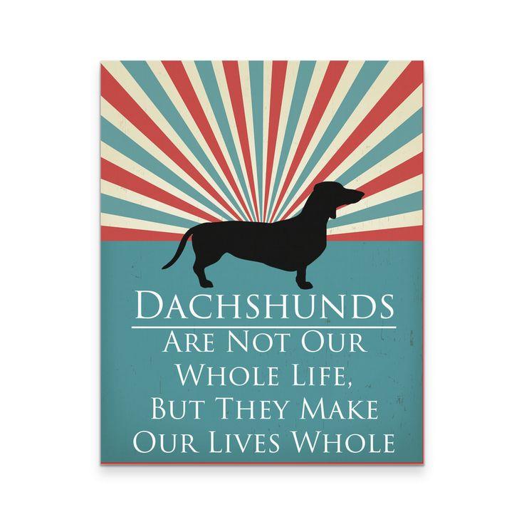 I Love My Dachshunds