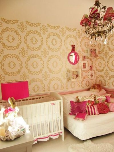 metallic interiors how to make a room shine wwwlivelyupyourscom - Metallic Kids Room Interior