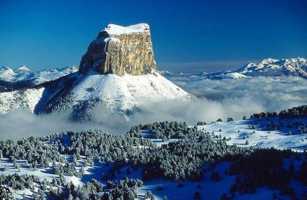 Le Mont Aiguille, France