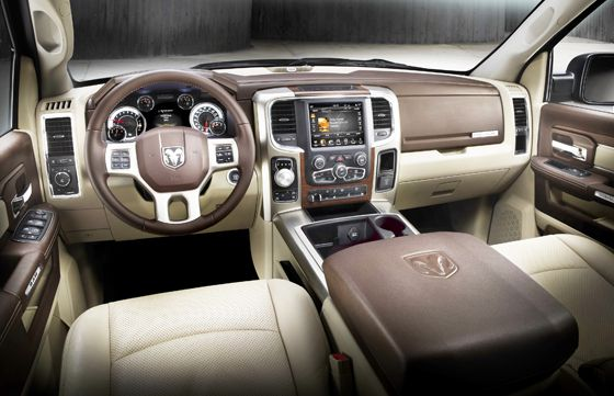 Dodge Ram 1500 Diesel >> 2013 Ram Truck Interior makes the Wards Auto Top 10. Amazing how much truck interiors have ...