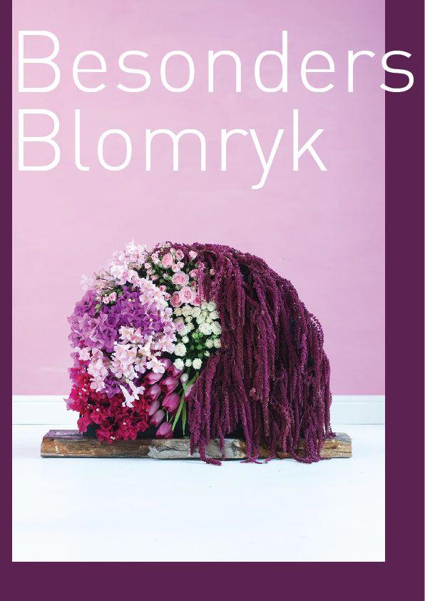 Vertical Blooms, flower arrangement by bthings.me