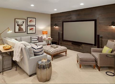 How about this media room? --- Follow our home tours on YouTube (channel link-in-bio) @HomeChannelTV --- #hometours #homedecor #homedesign #luxuryhome #hctv #hgtv #luxury #design #dreamhome #style #remodel #remodeled #remodels #diy #trend #makeovers #makeover #basement #mediaroom