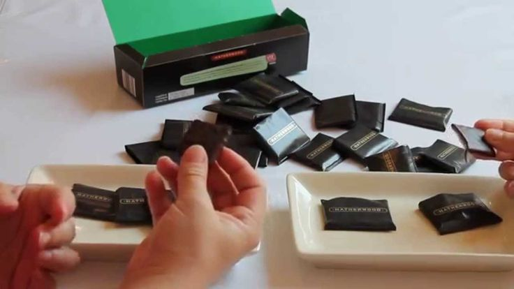 Candy Quest #12 Hatherwood Mint Chocolate - Thin Dark Chocolate Tablet W...