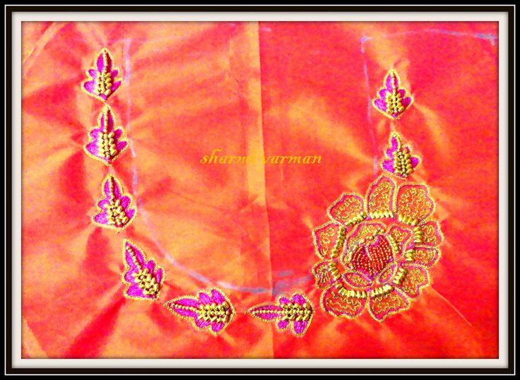 Images about aari embroidery on pinterest simple