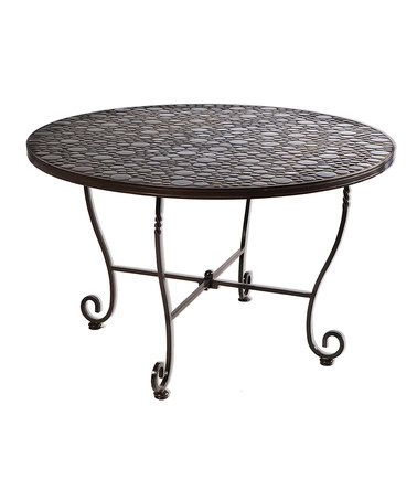 Another great find on #zulily! Bolla Mosaic Round Outdoor Table #zulilyfinds