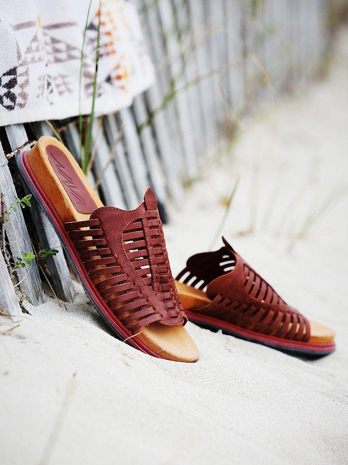 NAYA Kicker Huracche Slip On Sandal at Free People Clothing Boutique