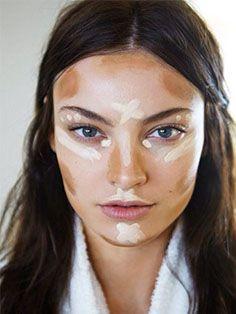 #veronikamaine #stripe #inspiration #summer13 #makeup
