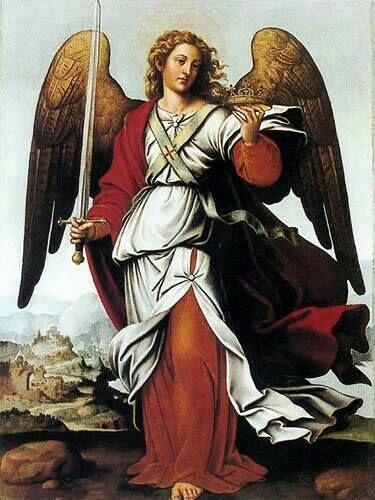 Saint Gabriel --- http://www.amazon.com/author/claudiaross; http://blamehelenabooks.blogspot.com