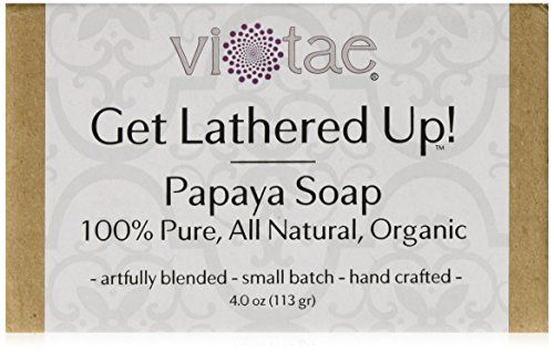 Vi-Tae Organic Papaya Soap, 4 oz. Vi-Tae®
