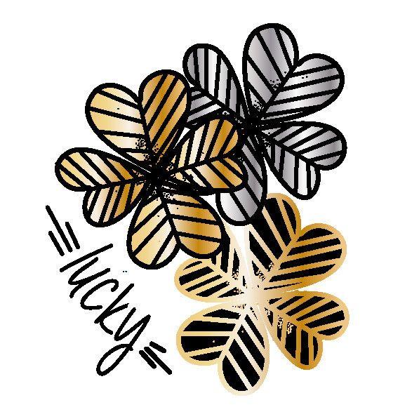 Clover - Set of 2 – TATZ temporary designer tattoo