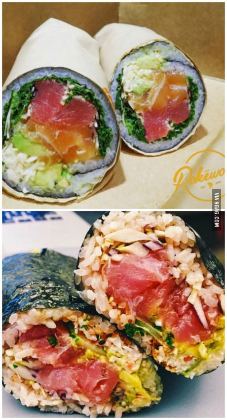 Sushi Burrito seems to be a thing now. How bad do you want it?