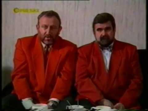 Tadeusz Drozda i Janusz Rewiński - prezydenci
