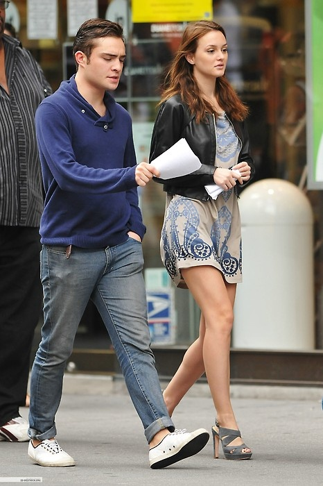 chuck bass and blair waldorf dating in real life