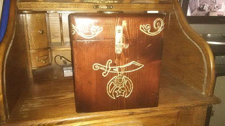 Handmade Masonic Shriner Fez Case Cases And Handmade