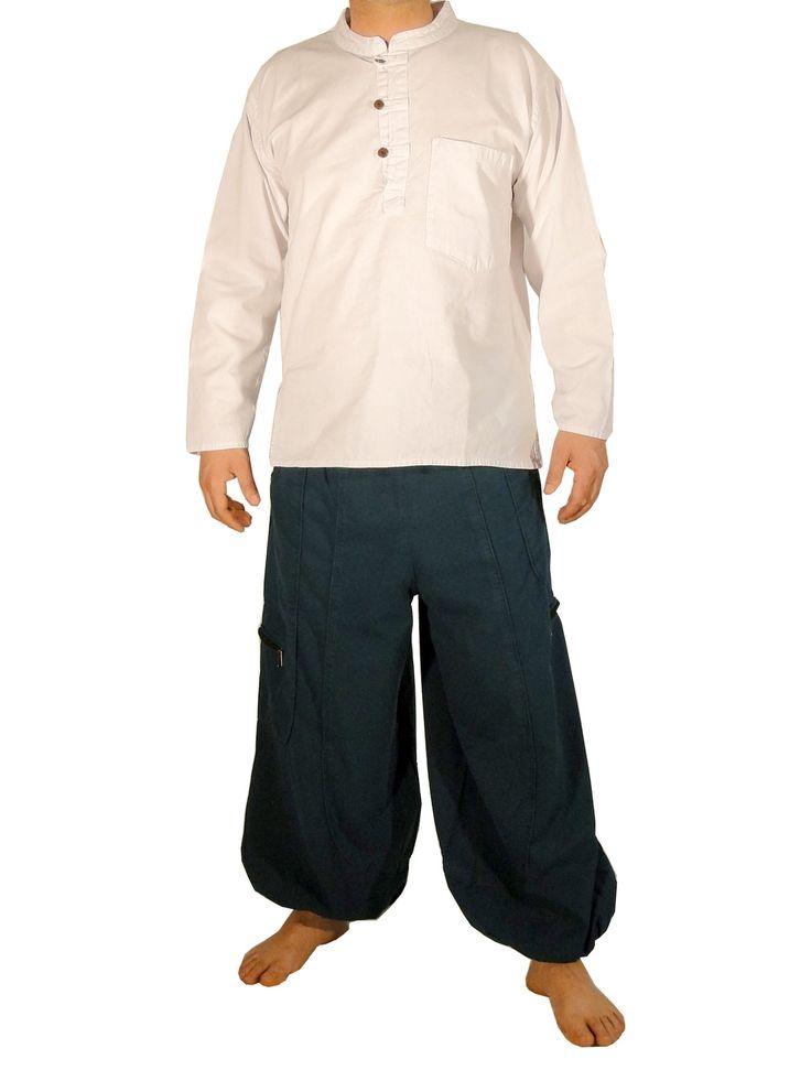 les 25 meilleures id es de la cat gorie pantalon large homme sur pinterest v tements pour. Black Bedroom Furniture Sets. Home Design Ideas