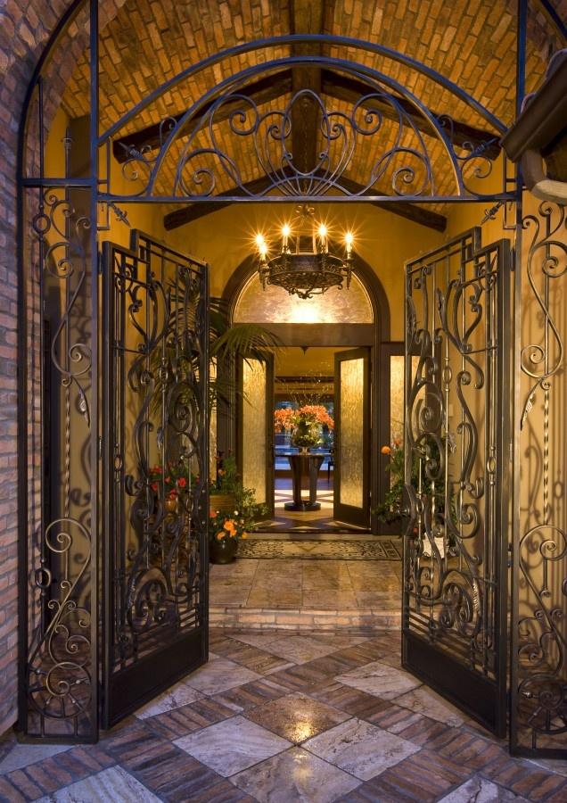 Entry   Mediterranean   Entry   San Diego   By Robeson Design