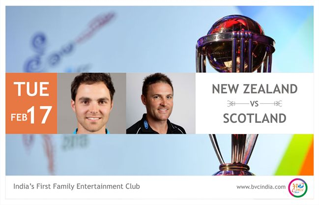 Match of the Day.  New Zealand Vs Scotland.