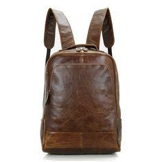 Mochilas de cuero de escuela para mujeres o hombres Bolsos de la universidad estilo retro [JM93189] - €104.42 : bzbolsos.com, comprar bolsos online