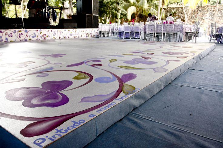 Dance floor o Pista de Baile Orquid Radiant
