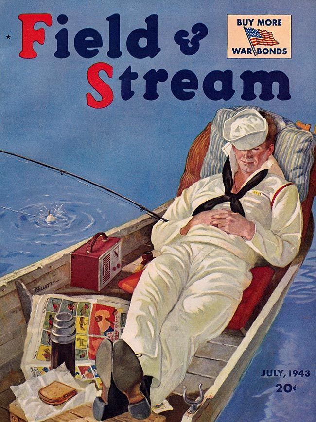102 best vintage fishing images on pinterest vintage for Field and stream fishing shirts