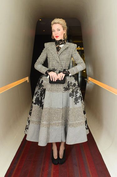 Best Dressed Celebrities Week of February 15th, 2013 - Best Dressed Photos February 2013 - Harper's BAZAAR...out there and a bit wiggy, but I like it!
