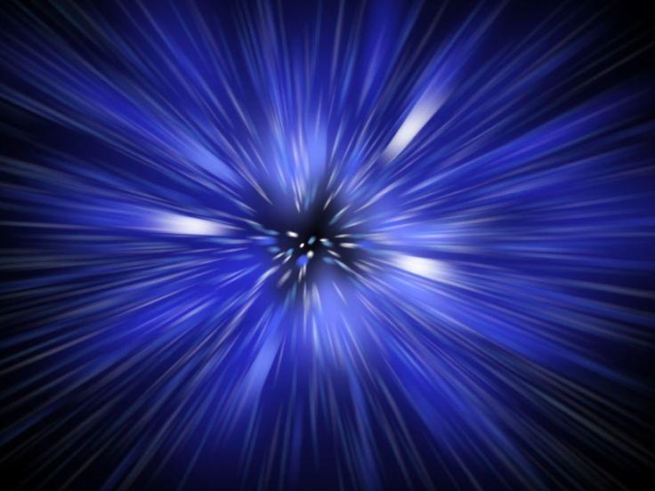 blu ... spaziale