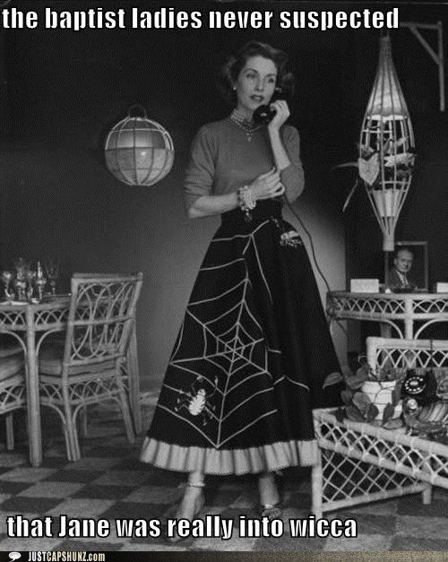 an alternative to the poodle skirt the spider skirt - Halloween History Witches