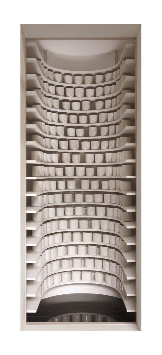 Whoa...Edmund De Waal, Porcelain Wall.