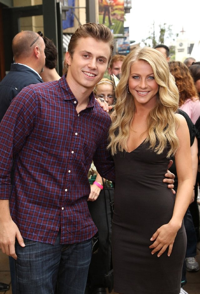 Kenny Wormald and Julianne Hough...