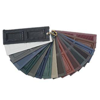 Alcoa Custom Exterior Shutter Color Sample Kit