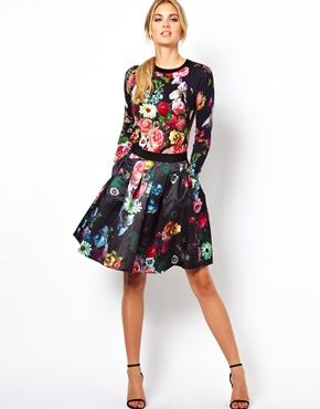 black floral (ted baker)