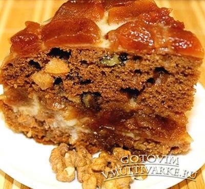 Медовый торт в мультиварке (постный)